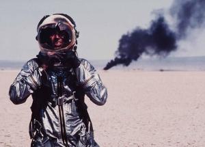 Sam Shepard as barrier-breaker Chuck Yeager.